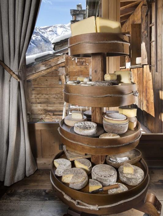 Les fromages à La Bouitte